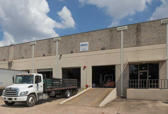 Loading dock of Miller Mays building